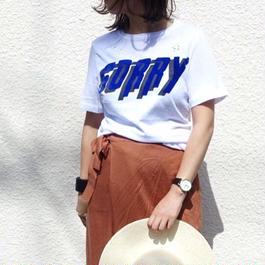 Tシャツ SORRY