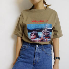TシャツWHO 2col