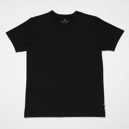 STELLAR CONFLICT天竺 S/S T-SHIRT TRUE BLACK