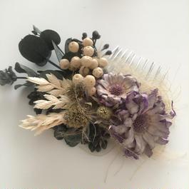 ヘッドアクセサリー S purple