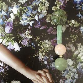 耳飾りWater flower =halfcube M  228=