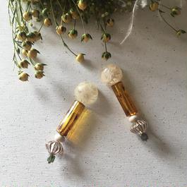 耳飾りWater flower =Hiroko's RIVIVAL=