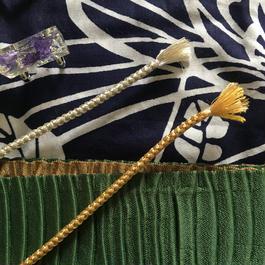日本製 組紐 silk 100%