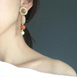 耳飾りWater flower =halfcube M 189 =