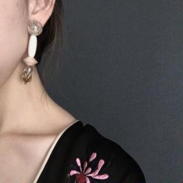耳飾りWater flower =halfcube S  224=