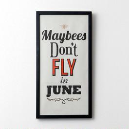 Maybees don't fly in June(ブラック×バーミリオン)