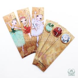 Bookmarks・しおり(JEWELS 全3種・本体価格:¥380)PBMJ00