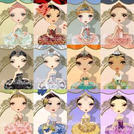 Bookmarks・しおり(BALLET ÈTOILES 全12種・本体価格:¥380) PBMET00