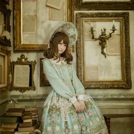 Baroque x Sakizo  Repose of Queen ~女王の安息所~ タッセルリボンボンネット【ご予約商品】