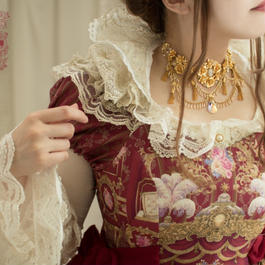 Baroque x marywest☆ Repose of Queen ネックレス※ハンドメイド商品、数量限定※【ご予約商品】