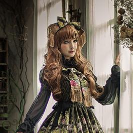 Baroque x Sakizo  Repose of Queen ~女王の安息所~ タッセルリボンカチューシャ【ご予約商品】