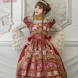 Baroque x Sakizo  Repose of Queen ~女王の安息所~ ティータイムドレス【ご予約商品】