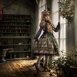 Baroque x Sakizo Repose of Queen ~女王の安息所~ ストロールジャンパースカート【ご予約商品】