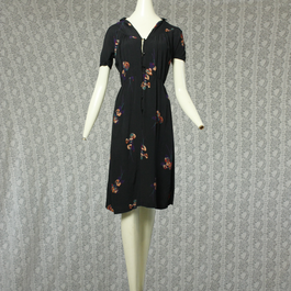 1970's Vintage Short  sleeve Onepice