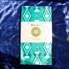 Bee Eco Wrap【size L】 33cm×33cm / L-04