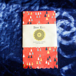 Bee Eco Wrap【size M】 27cm×27cm/ m-03