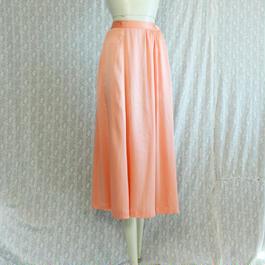 1980's Vintage【JAEGER】 Silk Long Skirt