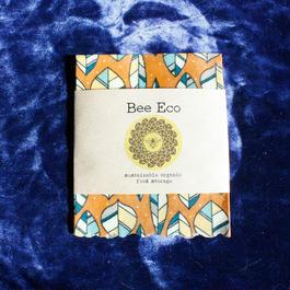 Bee Eco Wrap 【size S】18cm×18cm / s-07