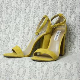 Vintage【STEVE MADDEN】 Yellow Suede Heel