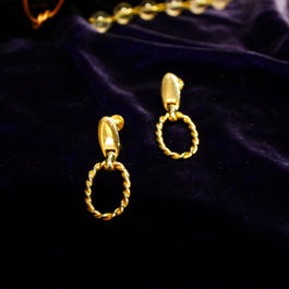 1960's Vintage Gold Earring