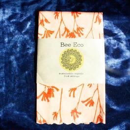 Bee Eco Wrap【size M】 27cm×27cm/ m-01