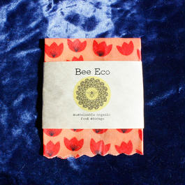Bee Eco Wrap 【size S】18cm×18cm / s-01