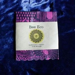 Bee Eco Wrap 【size S】18cm×18cm / s-04