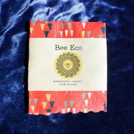 Bee Eco Wrap 【size S】18cm×18cm / s-05