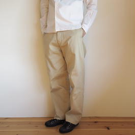 YAECA CHINO CLOTH PANTS ワイド
