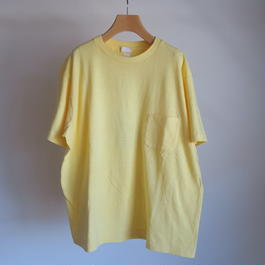 YAECA ユニセックス 丸胴 CREW NECK POCKET Tシャツ 170106