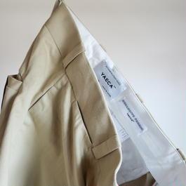 YAECA MEN CHINO CLOTH PANTS ワイドテーパード