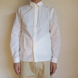 YAECA MEN COMFORT SHIRT NARROW ホワイト