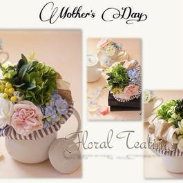 Mother's Day Floral Teatime