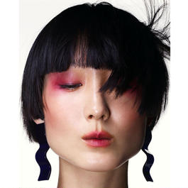 shiki / WAVE PIECES EARRINGS / PURPLE