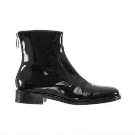 courreges / zip boots / Black