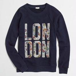 J.CREW London sweatshirt