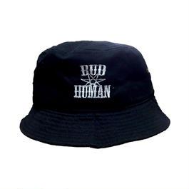 "Bucket Hat ""BUDHUMAN"" (BLK)"