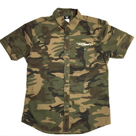 S/S STRETCH CLOTH SHIRTS (CAMO)