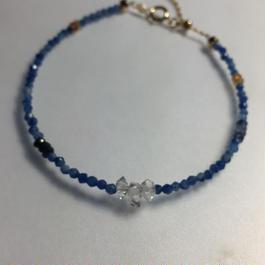 ハ―キマ―ダイヤモンドの天然石ブレスレット
