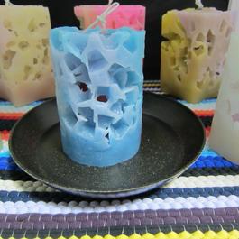 円柱キャンドル アイス