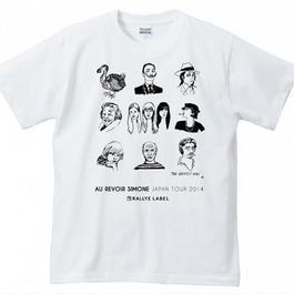 Au Revoir Simone × ChinatsuHigashi/ Tシャツ