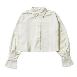 クロップドネルシャツ【316100004009 】