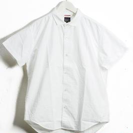 BRUNABOINNE  グランパオックスシャツ  ブルーナボイン