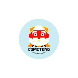 COMETENG BUTTON BADGE '15/005