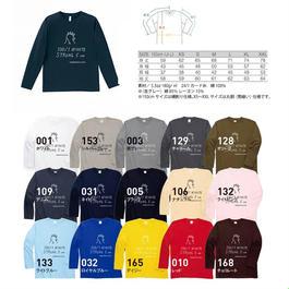 100/1プロジェクト/大人ロングTシャツ