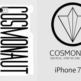 COSMONAUT SAS LOGO WHITE iPhone Case