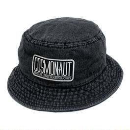 LOGO BUCKET HAT DARK DENIM
