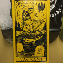 Vagrant. Death Card. 8.6. Yellow