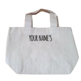 【名入れ】ミニトートバッグ