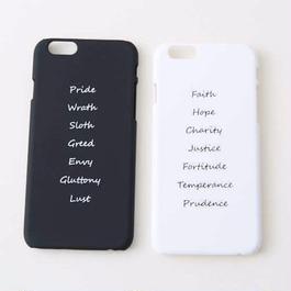 iPhone ハードケース  #シンプルロゴ